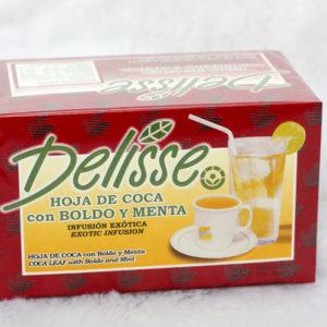 Delisse – Peruvian Mate de Coca (Coca Tea) with Lemon Verbena- Box